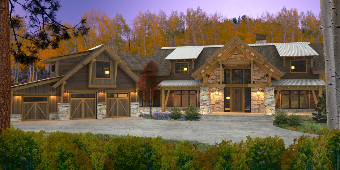 Our house designs and floor plans for Canadian country house plans