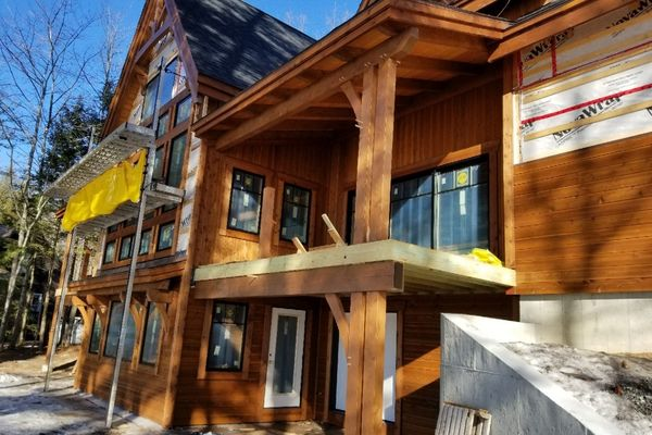 Meredith-Bay-New-Hampshire-Canadian-Timberframes-Construction-Rear-Balcony