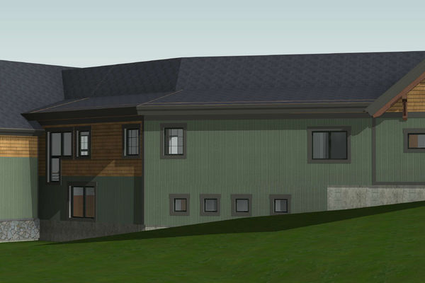 White-Mountain-Timber-Home-Canadian-Timberframes-New-Hampshire-Design-Rear-Left-Perspective