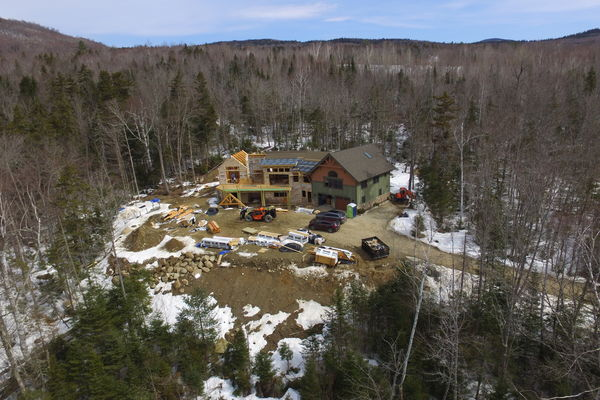 White-Mountain-Timber-Home-Canadian-Timberframes-New-Hampshire-Construction-Great-Room-View