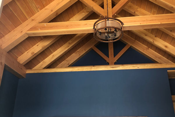 White-Mountain-Timber-Home-Canadian-Timberframes-New-Hampshire-Completed-Master-Bedroom