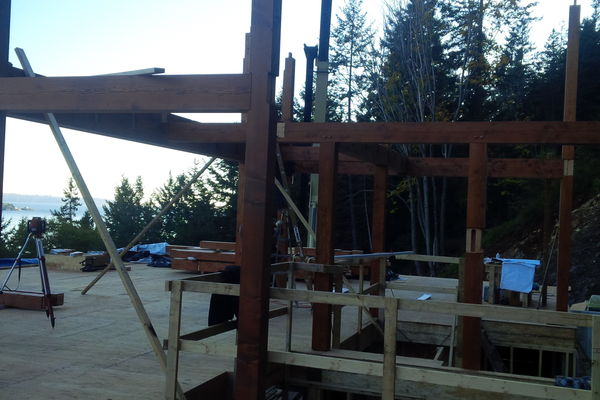 Whytecliff-Bowen-Island-British-Columbia-Construction-Mountain-View
