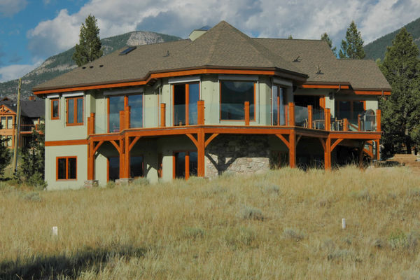 Purcell-Peaks-Invermere-BC-Canadian-Timberframes-Rear-Deck-Exterior