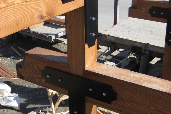 Golden-Library-British-Columbia-Construction-Timber-Detail