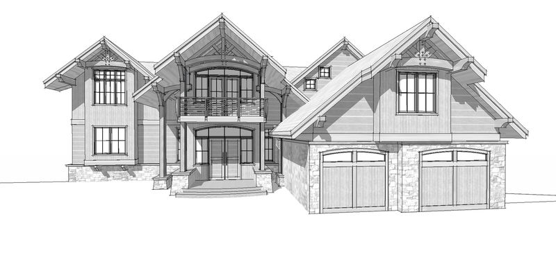 Osprey-Point-Canadian-Timberframes-Design-Front-Elevation