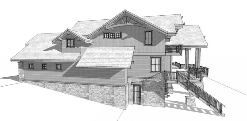 Osprey-Point-Canadian-Timberframes-Design-Right-Elevation