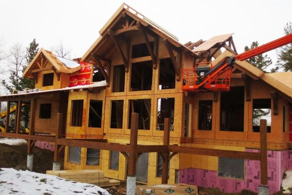 Northern-Meadows-Whitecourt-Alberta-Canadian-Timberframes-Construction-Wall-Panels